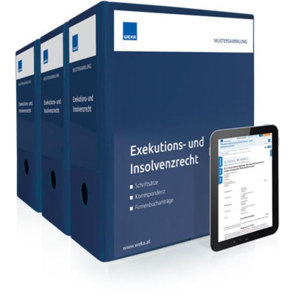 Mustersammlung Exekutions- und Insolvenzrecht - Coverbild