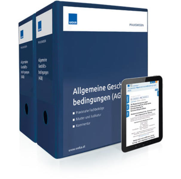 Praxiswissen Allgemeine Geschäftsbedingungen (AGB) - Coverbild