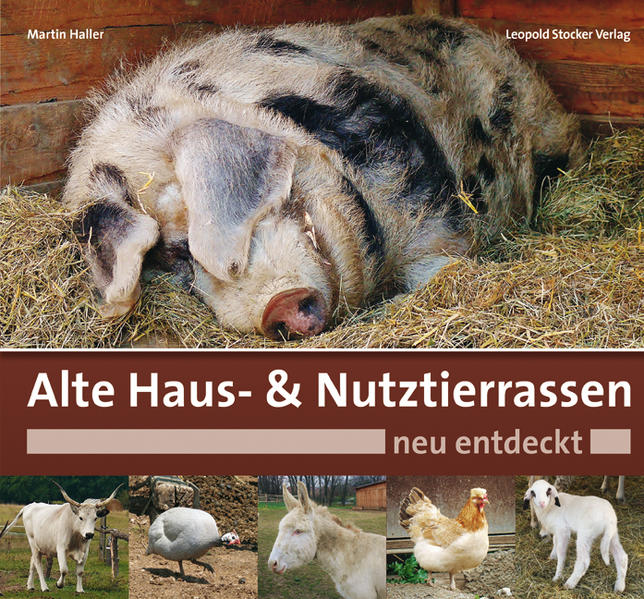 Alte Haus- & Nutztierrassen neu entdeckt - Coverbild
