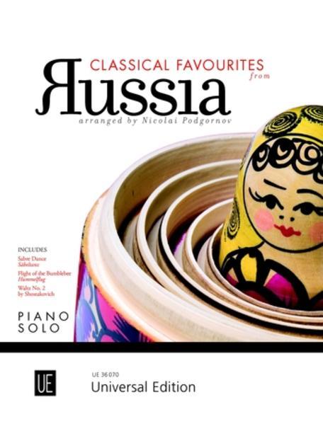 Classical Favourites from Russia für Klavier - Coverbild