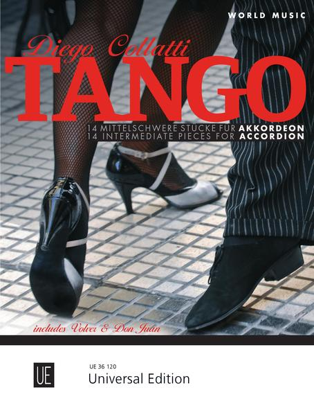 Tango Accordion für Akkordeon - Coverbild
