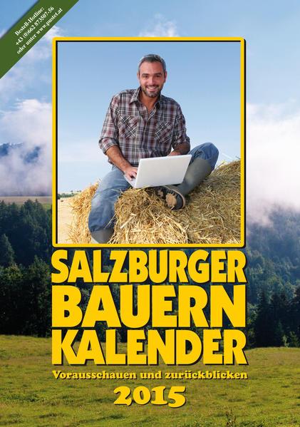 Salzburger Bauernkalender 2015 - Coverbild