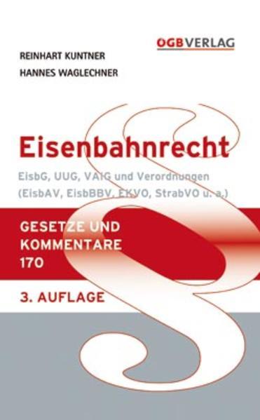 Eisenbahnrecht - Coverbild