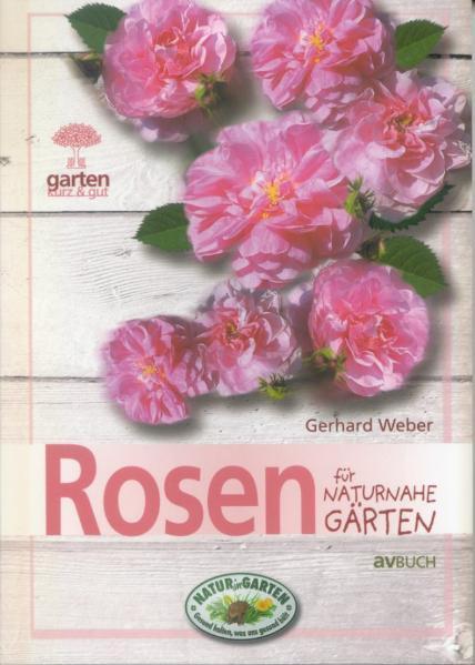 Rosen für naturnahe Gärten - Coverbild
