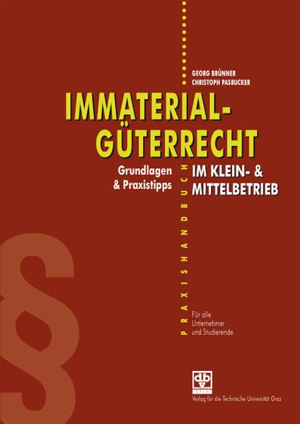 Immaterialgüterrecht im Klein- & Mittelbetrieb - Coverbild