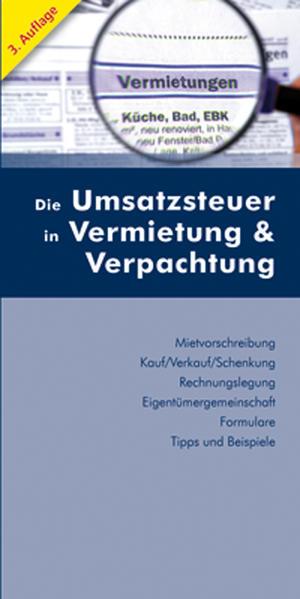 Die Umsatzsteuer in Vermietung & Verpachtung - Coverbild