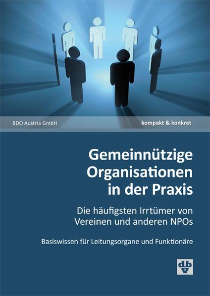 Gemeinnützige Organisationen in der Praxis - Coverbild