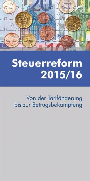 Steuerreform 2015/16 - Coverbild