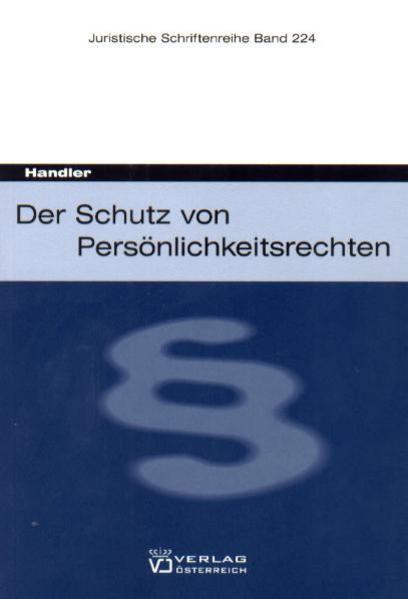 Persönlichkeitsrechte - Coverbild