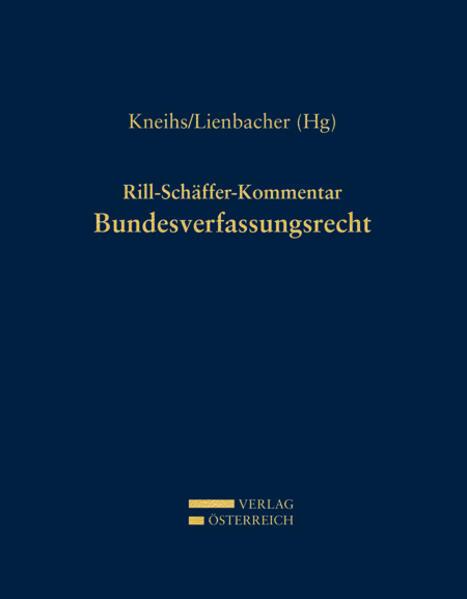 Rill-Schäffer-Kommentar Bundesverfassungsrecht - Coverbild