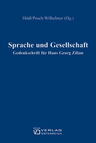 Sprache und Gesellschaft - Coverbild