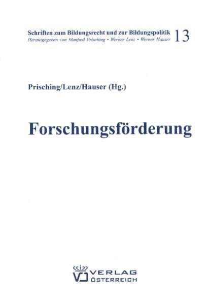Forschungsförderung in Österreich und der EU - Coverbild