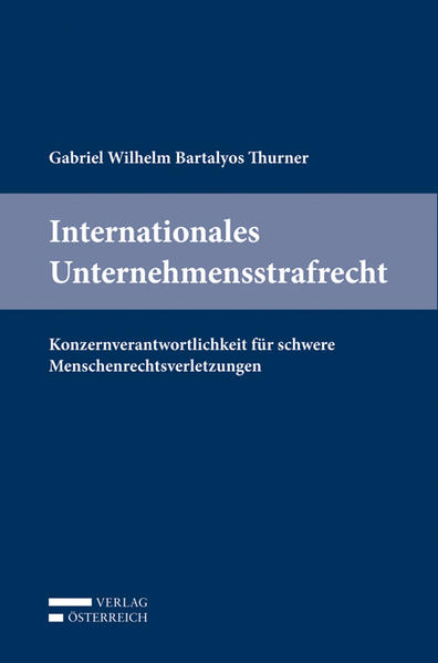 Internationales Unternehmensstrafrecht - Coverbild