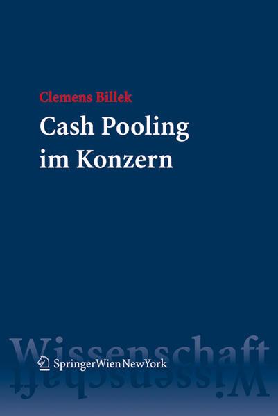 Cash Pooling im Konzern - Coverbild