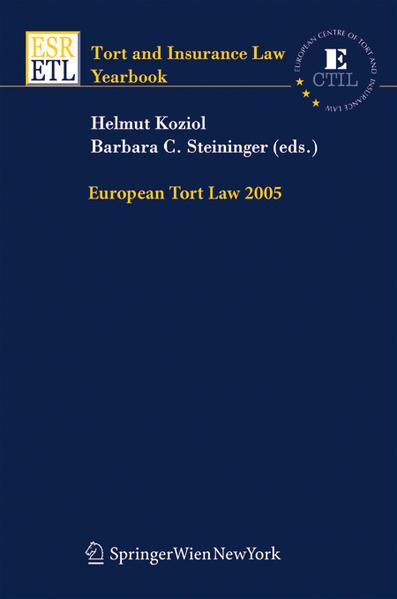 European Tort Law 2005 - Coverbild