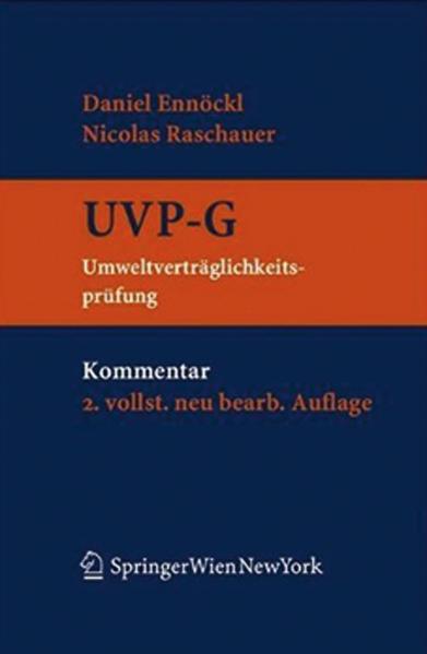 Kommentar zum UVP-G - Coverbild