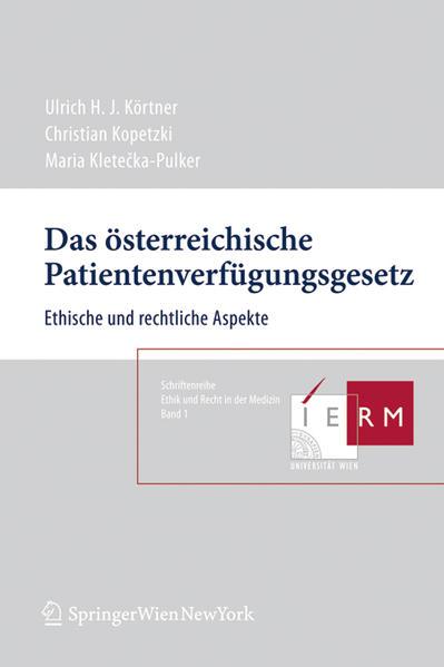 Das österreichische Patientenverfügungsgesetz - Coverbild