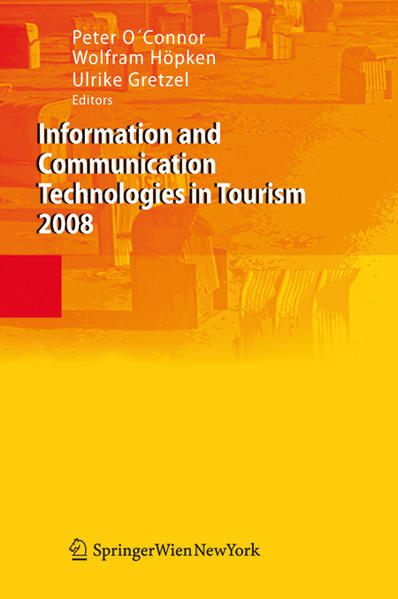 Information and Communication Technologies in Tourism 2008 - Coverbild