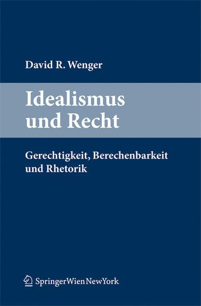 Idealismus und Recht - Coverbild