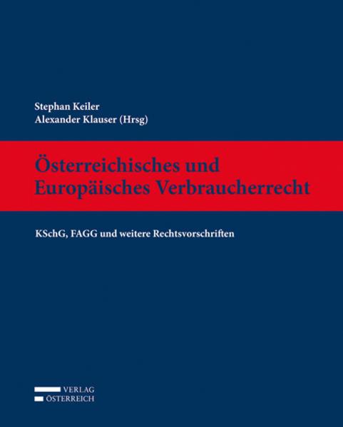 Österreichisches und Europäisches Verbraucherrecht - Coverbild