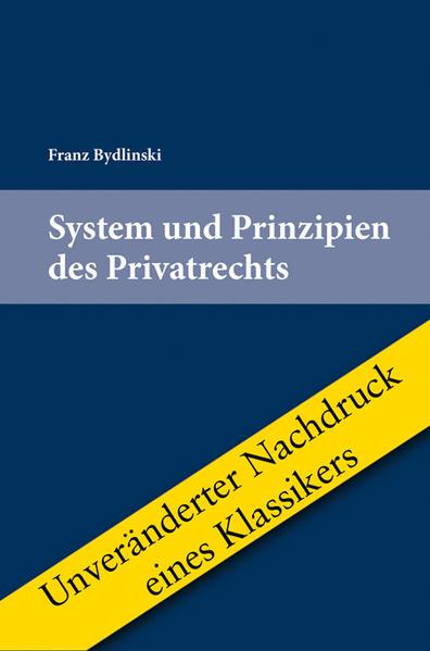 Download System und Prinzipien des Privatrechts PDF Kostenlos