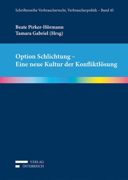 Option Schlichtung - Eine neue Kultur der Konfliktlösung - Coverbild