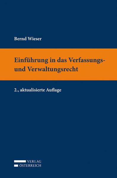 Einführung in das Verfassungs- und Verwaltungsrecht - Coverbild