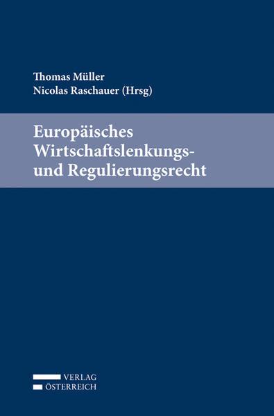 Europäisches Wirtschaftslenkungs- und Regulierungsrecht - Coverbild