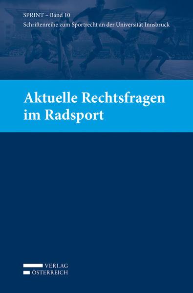 Aktuelle Rechtsfragen im Radsport - Coverbild