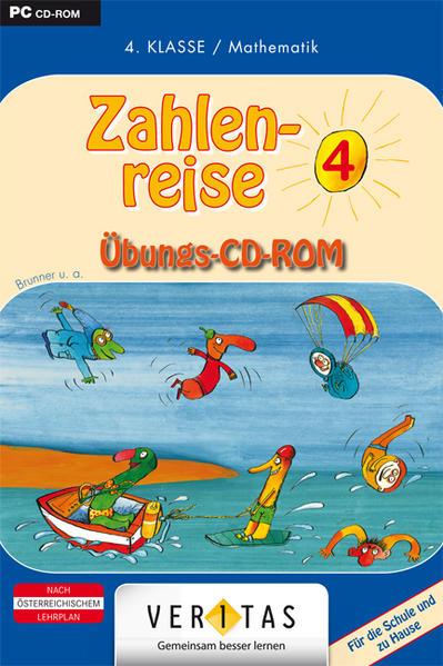 Zahlenreise 4. Übungs-CD-ROM - Coverbild