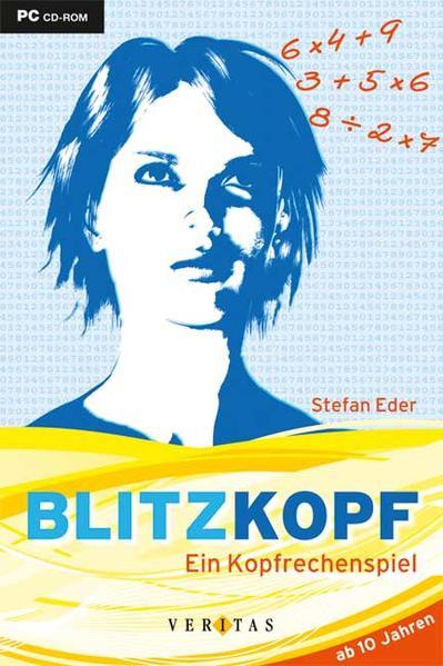 Blitzkopf. Ein Kopfrechenspiel. Schüler-CD-ROM in DVD-Box - Coverbild