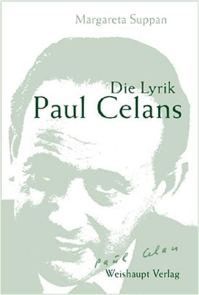 Die Lyrik Paul Celans - Coverbild