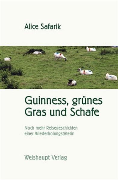 Guinness, grünes Gras und Schafe - Coverbild