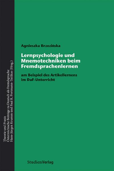 Lernpsychologie und Mnemotechniken beim Fremdsprachenlernen - Coverbild