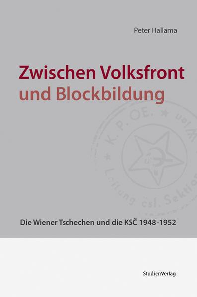 Zwischen Volksfront und Blockbildung - Coverbild