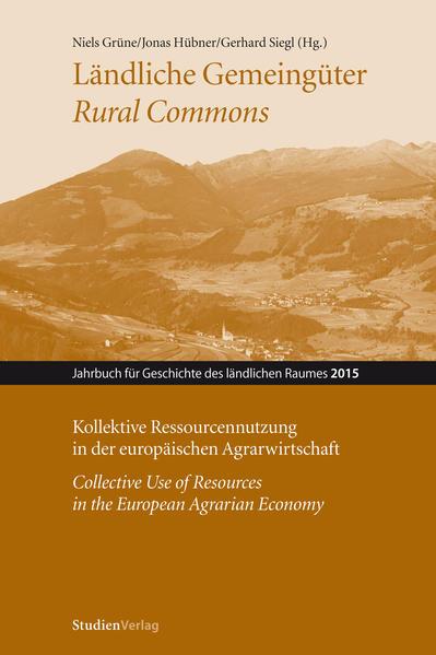 Ländliche Gemeingüter / Rural Commons - Coverbild