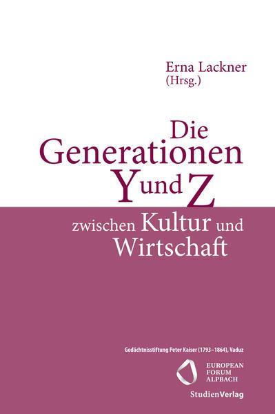 Die Generationen Y und Z zwischen Kultur und Wirtschaft  - Coverbild