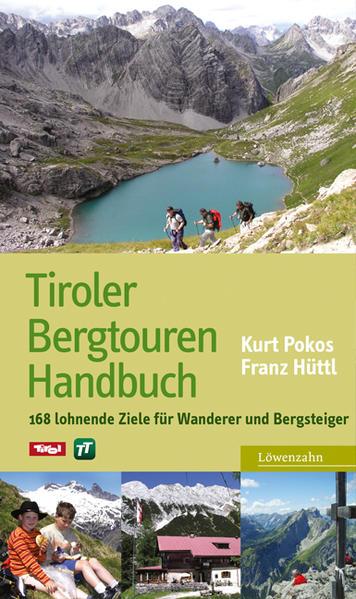 Tiroler Bergtouren Handbuch - Coverbild