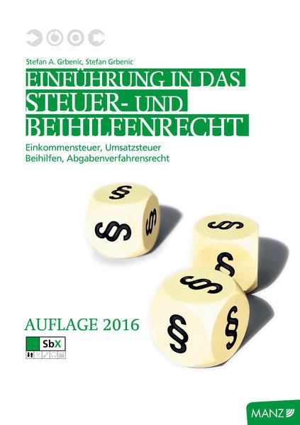 Einführung in das Steuer- und Beihilfenrecht - Coverbild