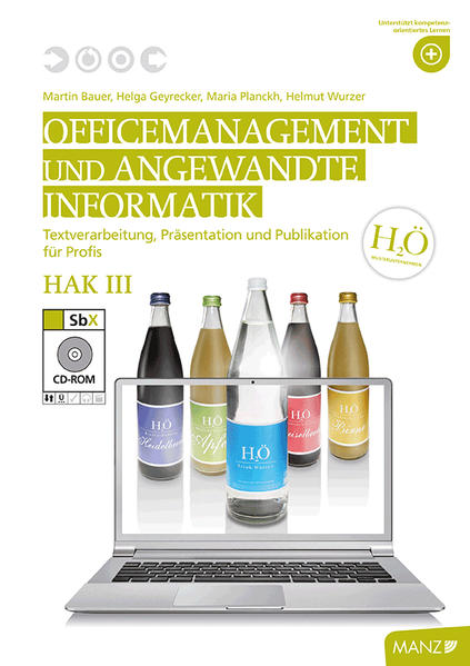 Officemanagement & Ang. Informatik HAK III mit SbX-CD - Coverbild