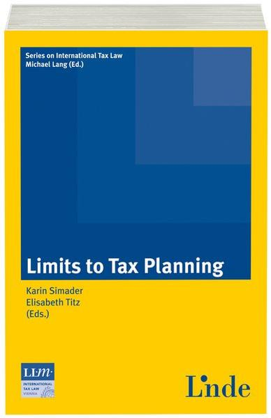 Limits to Tax Planning - Coverbild