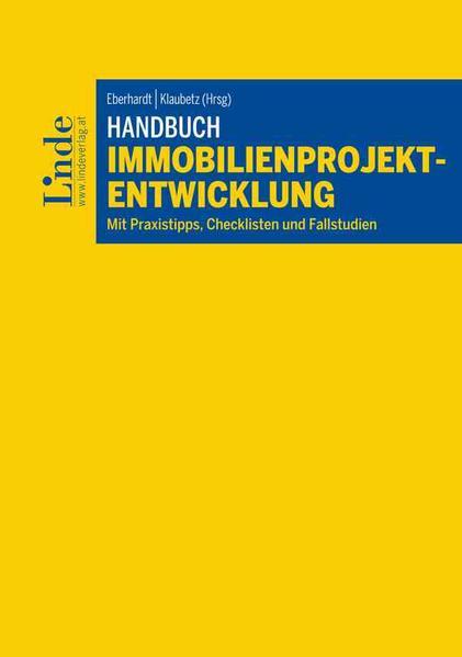 Handbuch Immobilienprojektentwicklung - Coverbild