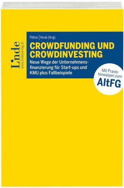 Crowdfunding und Crowdinvesting - Coverbild