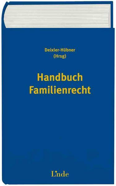Handbuch Familienrecht - Coverbild