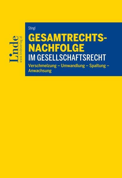 Gesamtrechtsnachfolge im Gesellschaftsrecht - Coverbild