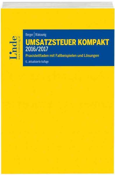 Umsatzsteuer kompakt 2016/2017 - Coverbild