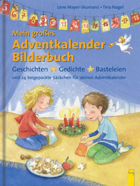 Mein großes Adventkalender-Bilderbuch - Coverbild