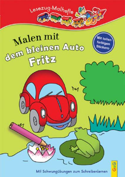 Malen mit dem kleinen Auto Fritz - Coverbild