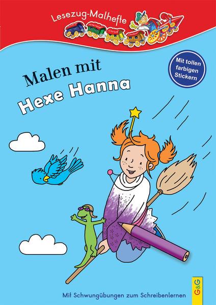 Malen mit Hexe Hanna - Coverbild