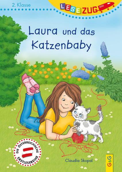 LESEZUG/2. Klasse: Laura und das Katzenbaby - Coverbild